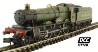 Dapol 2S-010-003D Class 49xx Hall steam locomotive 4958 'Priory Hall' in GWR lined green. DCC fitted