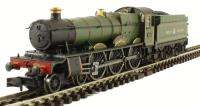 Dapol 2S-010-003 Class 49xx Hall steam locomotive 4958 'Priory Hall' in GWR lined green