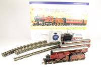 Bachmann Branchline 30-170 Thames Clyde Express with Midland Compound 1000, 2 x corridor composite & 3rd brake coach in LMS livery