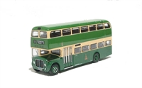 "EFE 30602 AEC Renown (596 LCG Route 11) d/deck modern bus ""King Alfred"""