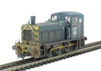 Bachmann Branchline 31-365 Class 03 0-6-0 diesel shunter 03170 in BR blue with wasp stripes & air tanks - weathered