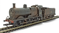 Bachmann Branchline 31-628DC Class 3F 0-6-0 43620 in BR black with late crest - weathered. DCC On Board