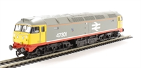 Bachmann Branchline 31-655 Class 47/3 47301 'Centurion' in BR Railfreight grey with red stripe
