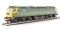Bachmann Branchline 31-656DC Class 47/0 D1677 'Thor' in BR green with full yellow ends. DCC On Board