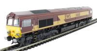 Bachmann Branchline 32-725U Class 66 Diesel 66111 in EWS livery with Highland Rail stag - Limited edition