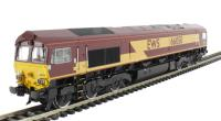 Bachmann Branchline 32-725X Class 66 66050 'EWS Energy' in EWS livery - limited edition with etched nameplates