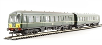 Bachmann Branchline 32-906 Class 108 2 Car DMU in BR green with half yellow ends