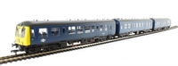 Bachmann Branchline 32-912 Class 108 3 Car DMU in BR blue with full yellow ends