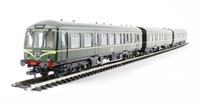 """Bachmann Branchline 32-913^ Class 108 3 Car DMU in BR green with speed whiskers """"Middlesbrough"""""""