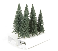 """Bachmann Scene Scapes 32001 5"""" - 6"""" Pine Trees - Pack Of 6"""
