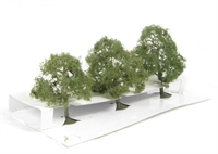 """Bachmann Scene Scapes 32007 2.5"""" - 3.5"""" Deciduous Trees - Pack Of 3"""