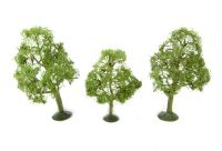 """Bachmann Scene Scapes 32008 3"""" - 4"""" Elm Trees - Pack Of 3"""