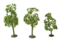 """Bachmann Scene Scapes 32009 3"""" - 4"""" Sycamore Trees - Pack Of 3"""