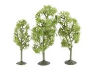 "Bachmann Scene Scapes 32010 3"" - 4"" Aspen Trees - Pack Of 3"