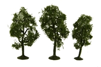 """Bachmann Scene Scapes 32011 3"""" - 4"""" Maple Trees - Pack Of 3"""