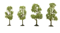 """Bachmann Scene Scapes 32109 2.5"""" - 2.75"""" Sycamore Trees - Pack Of 4"""