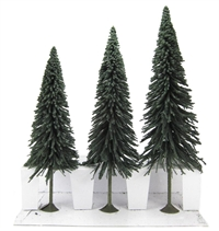 """Bachmann Scene Scapes 32201 8"""" - 10"""" Pine Trees - Pack Of 3"""