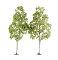 """Bachmann Scene Scapes 32210 Pack of 2 x 8"""" Aspen trees"""