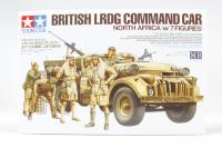 Tamiya 32407 British LRDG Chevrolet Command Car with 7 figures and equipment
