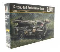 Italeri 326 Willys Jeep GPA 1/4 Ton Ambulance