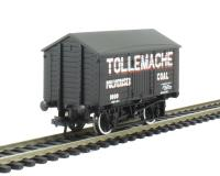 Bachmann Branchline 33-184 10 ton covered wagon in Tollemache Pulverised Coal livery