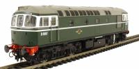 Heljan 3410 Class 33/0 diesel D6507 in early BR green