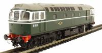 Heljan 3411 Class 33/0 diesel D6577 in early BR green