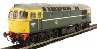 Heljan 3414 Class 33/0 diesel D6570 in BR green with full yellow ends and BR coach roundels