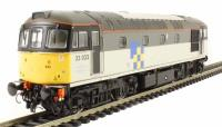 Heljan 3434 Class 33/0 diesel 33033 in Railfreight Construction Sector triple grey