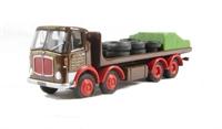 "EFE 34403 AEC MkV 4 axle flatbed ""Spiers of Melksham"""