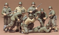 Tamiya 35048 U.S. Infantry European Theater with 8 figures