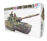 Tamiya 35068 British Cheiftain Mk5 tank with 2 figures