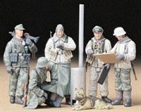 Tamiya 35212TAM German Soldiers Field Briefing