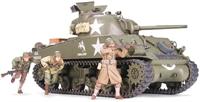 Tamiya 35250 M4A3 Sherman with 75mm Gun & 3 figures
