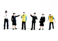 Bachmann Branchline 36-041 Police & security staff x 6