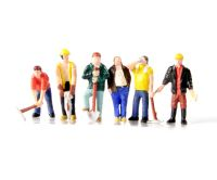 Bachmann Branchline 36-042 Construction workers x 6