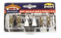 Bachmann Branchline 36-409 World War 1 medical staff and soldiers