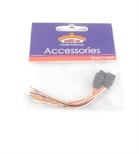 hattons co uk bachmann branchline 6 pin decoder socket wiring harness x 3 any or multiple scales acircpound7 61 more than 10 in stock