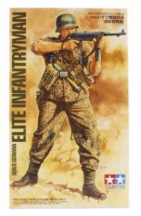 Tamiya 36303tam Elite German SS Infantryman with MP40