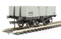 Bachmann Branchline 37-061C 5 plank wagon with wooden floor in BR grey