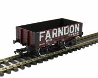 Bachmann Branchline 37-064 5 plank wagon with wooden floor in Farndon livery