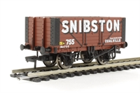 Bachmann Branchline 37-113 7 plank fixed end wagon in Snibston livery