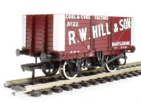 "Bachmann Branchline 37-162 8 plank end door wagon in ""R. W. Hill & Son"" livery"
