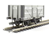 "Bachmann Branchline 37-163 8 plank end door wagon in ""William Harrison"" livery"