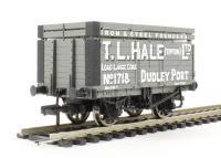 """Bachmann Branchline 37-187 7 plank wagon with coke rails """"T. L. Hale (Tipton) Ltd"""""""