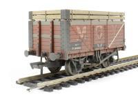 "Bachmann Branchline 37-188 7 plank wagon with coke rails ""Moy"" - weathered"