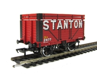 Bachmann Branchline 37-206A 8 plank wagon with coke rails in Stanton livery
