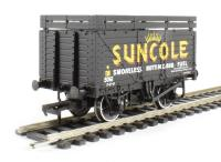 Bachmann Branchline 37-208 8 plank wagon with coke rails in Suncole livery