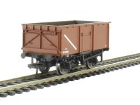 Bachmann Branchline 37-256 16 ton steel mineral wagon without top flap doors in BR bauxite
