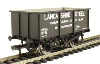 Bachmann Branchline 37-280 27 ton steel tippler wagon in Lancashire Steel Manufacturing livery